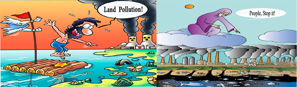 Pictures of land pollution for kids for Soil video for kids